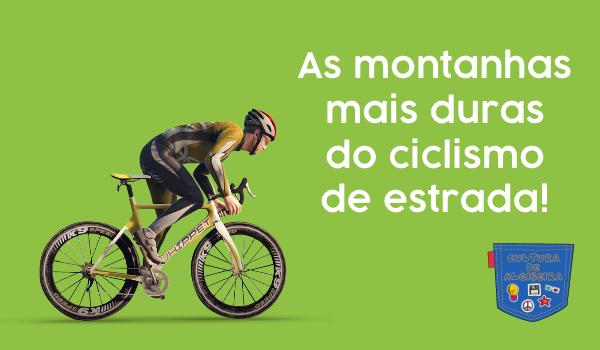 As montanhas mais duras do ciclismo de estrada - Cultura de Algibeira