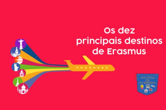Os dez principais destinos de Erasmus - Cultura de Algibeira