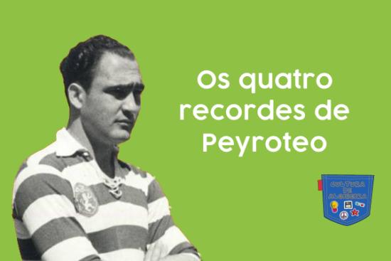 Os quatro recordes de Peyroteo - Cultura de Algibeira