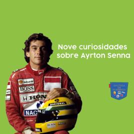 Nove curiosidades sobre Ayrton Senna - Cultura de Algibeira