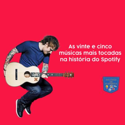 25 músicas mais tocadas história Spotify Cultura Algibeira