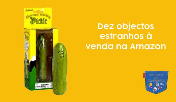 Dez objectos estranhos à venda na Amazon - Cultura de Algibeira, Algibeira, Bolso, Cultura