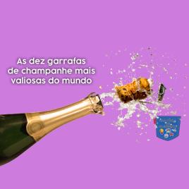 Dez garrafas champanhe mais valiosas mundo - Cultura de Algibeira