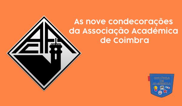 As nove condecorações da Associação Académica de Coimbra - Cultura de Algibeira, Algibeira, Bolso, Cultura