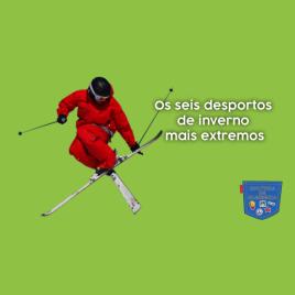 Os seis desportos de inverno mais extremos - Cultura de Algibeira
