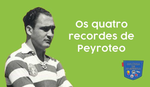 Os quatro recordes de Peyroteo - Cultura de Algibeira, Algibeira, Bolso, Cultura