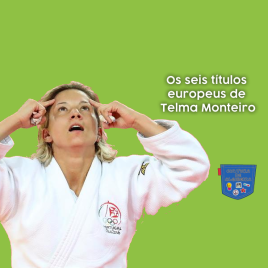Os seis títulos europeus de Telma Monteiro - Cultura de Algibeira