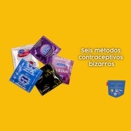 Seis métodos contraceptivos bizarros - Cultura de Algibeira