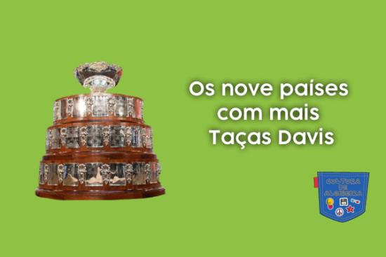 Os nove países com mais Taças Davis - Cultura de Algibeira