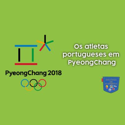 Os atletas portugueses em PyeongChang2018 - Cultura de Algibeira