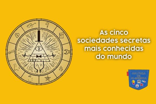 Cinco sociedades secretas mais conhecidas mundo Cultura Algibeira