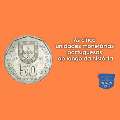 cinco unidades monetárias portuguesas história Cultura Algibeira