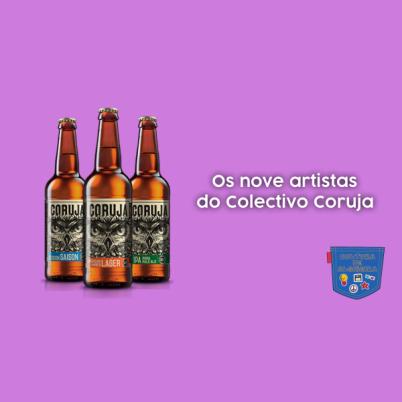 Os nove artistas do Colectivo Coruja - Cultura de Algibeira