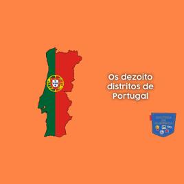 Os dezoito distritos de Portugal - Cultura de Algibeira