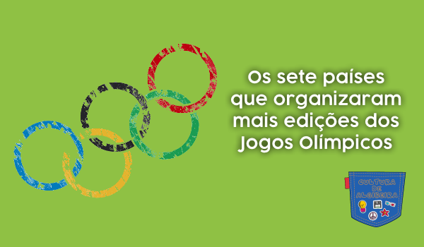 7 países organizar mais edições Jogos Olímpicos Cultura Algibeira