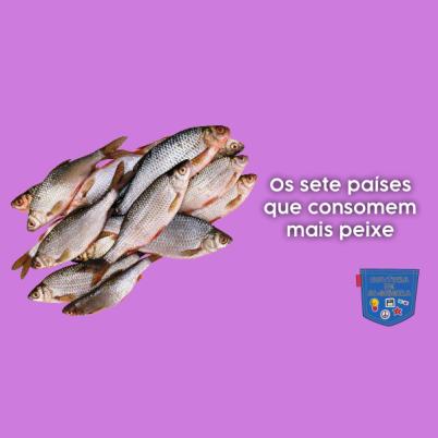 Os sete países que consomem mais peixe - Cultura de Algibeira