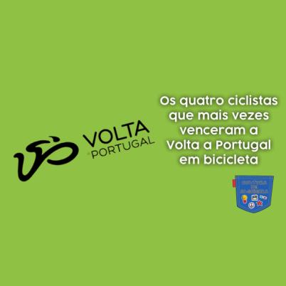 4 ciclistas venceram Volta Portugal bicicleta Cultura Algibeira