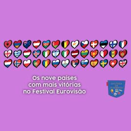 9 países mais vitórias Festival Eurovisão - Cultura de Algibeira