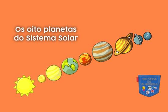 Os oito planetas do Sistema Solar - Cultura de Algibeira