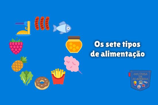 Os sete tipos de alimentação - Cultura de Algibeira