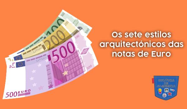 Os sete estilos arquitectónicos notas Euro Cultura de Algibeira