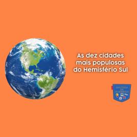 dez cidades mais populosas Hemisfério Sul Cultura de Algibeira