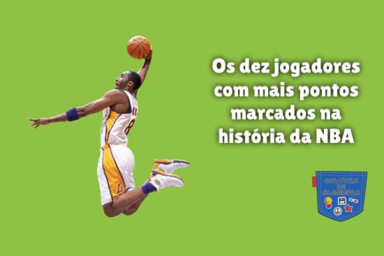 Dez jogadores mais pontos história NBA Cultura de Algibeira