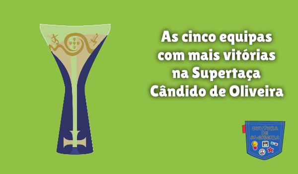 equipa mais vitórias Supertaça Cândido Oliveira Cultura Algibeira