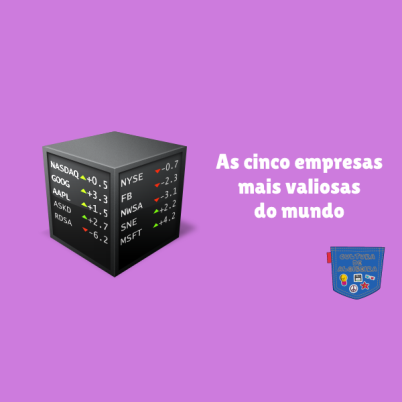 As cinco empresas mais valiosas do mundo - Cultura de Algibeira