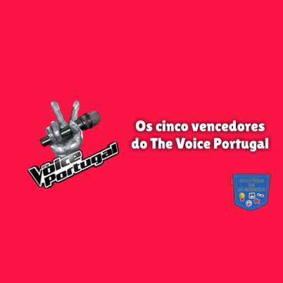 Os cinco vencedores do The Voice Portugal Cultura de Algibeira