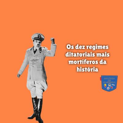 dez ditadores mais mortíferos história Cultura de Algibeira