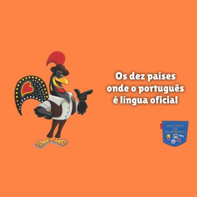 dez países português língua oficial Cultura de Algibeira