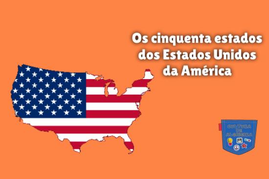 cinquenta estados Estados Unidos da América Cultura de Algibeira