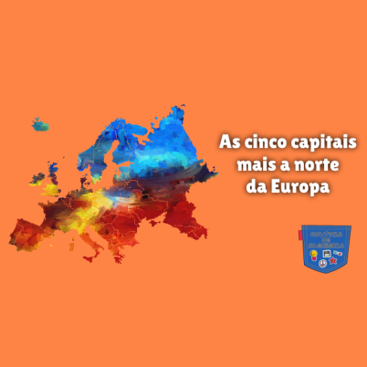 As cinco capitais mais a norte da Europa Cultura de Algibeira