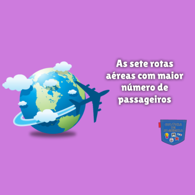 sete rotas aéreas maior número passageiros Cultura de Algibeira