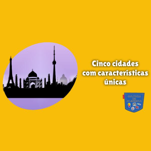 Cinco cidades com características únicas Cultura de Algibeira