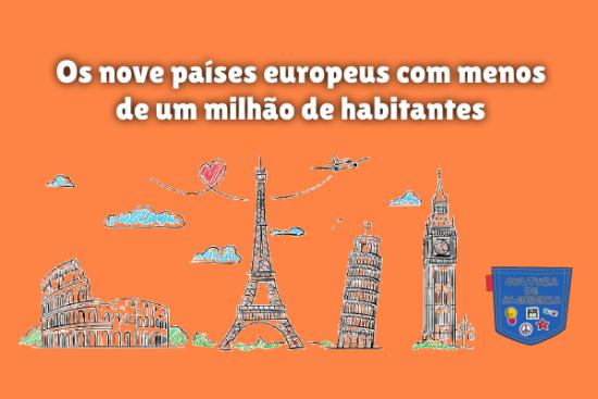 nove país europeu menos um milhão habitante Cultura de Algibeira