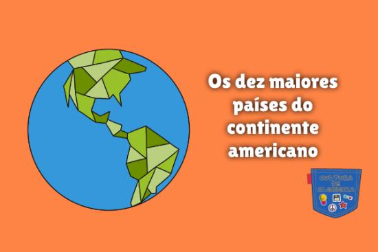 dez maiores países do continente americano Cultura de Algibeira