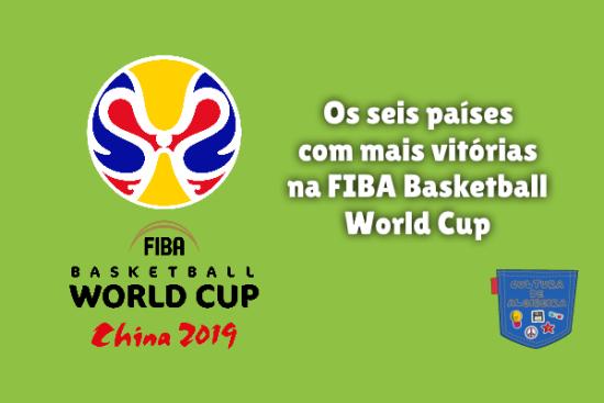 6 país mais vitória FIBA Basketball World Cup Cultura Algibeira