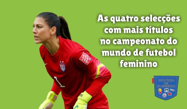 selecções campeonato mundo futebol feminino Cultura de Algibeira