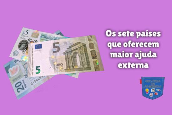 sete países oferecem maior ajuda externa Cultura de Algibeira