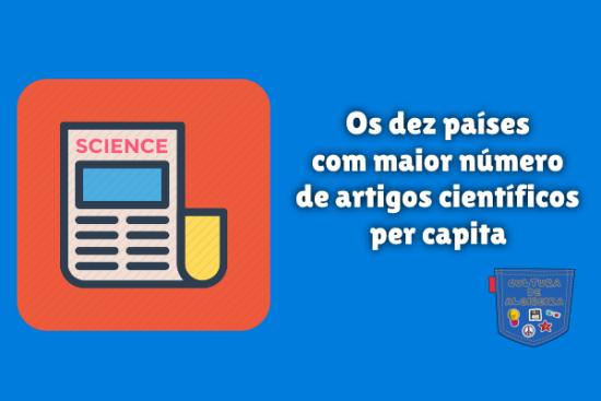 dez países mais artigos científicos capita Cultura de Algibeira