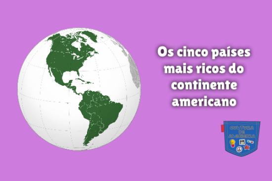 cinco países mais ricos continente americano Cultura de Algibeira