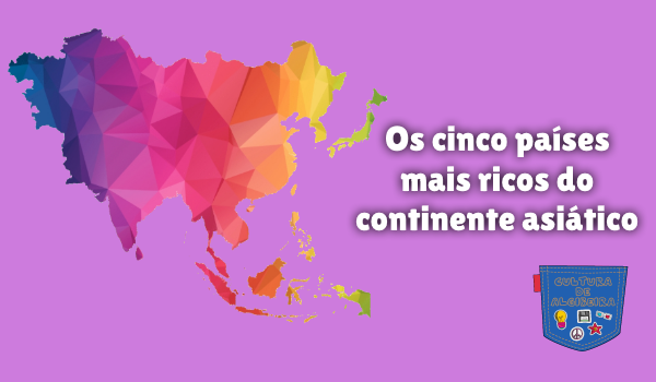 cinco países mais ricos continente asiático Cultura de Algibeira