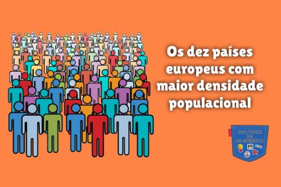 dez países europeus densidade populacional Cultura de Algibeira