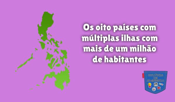 oito países ilhas mais um milhão habitantes Cultura de Algibeira