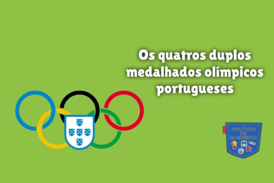 duplos medalhados olímpicos portugueses Cultura de Algibeira