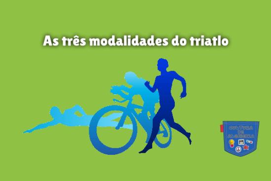 As três modalidades do triatlo Cultura de Algibeira
