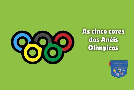 As cinco cores dos Anéis Olímpicos Cultura de Algibeira