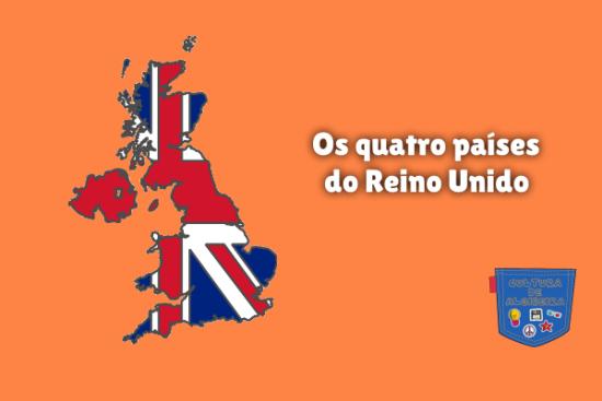 Os quatro países do Reino Unido Cultura de Algibeira